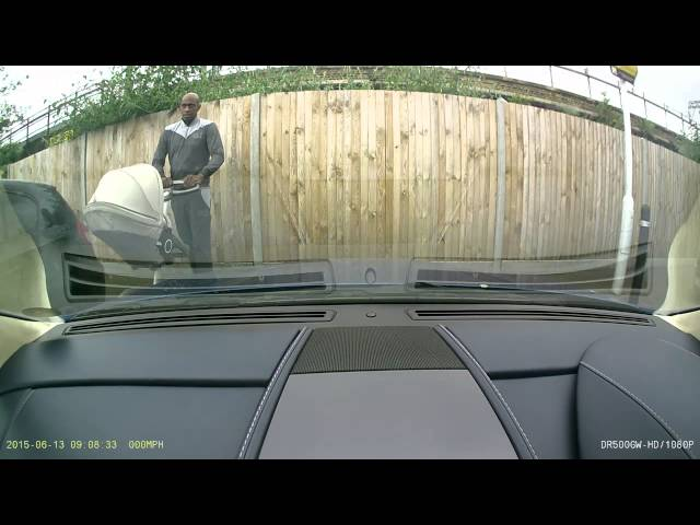 Dashboard Camera Catches Man Vandalizing $160,000 Car