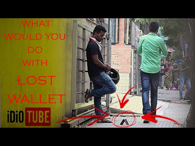 Ever Wonder What Would Happen If You Dropped Your Wallet? Check Out This Shocking Social Experiment