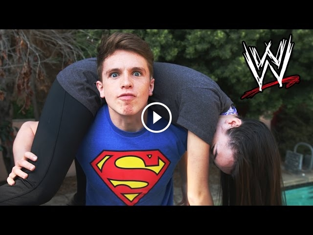 Guy Performs Brutal WWE Moves On A Girl