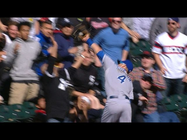 Kansas City Royals Outfielder Makes Catch Of The Year