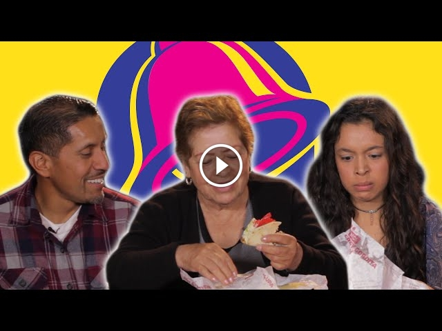 Mexican People Try Taco Bell For The First Time, Their Reactions Are Priceless