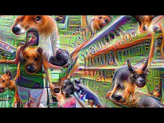 Google's Deep Dream Turns Grocery Store Into Trippy Dream