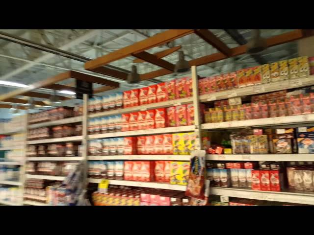 Guy Shoots Footage Inside A Grocery Store During An Earthquake