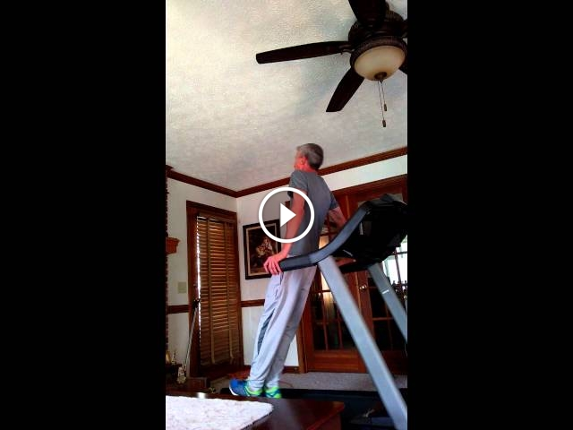 This Treadmill Dancing Dad Sure Knows How To Move